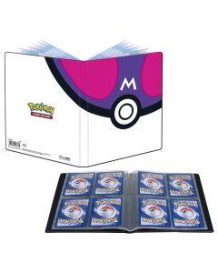 Pokémon UP - Master Ball - Portfolio 4 Pochettes