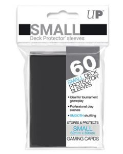 UP - Deck Protector Sleeves - Small Size (60) - Black