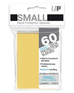 UP - Deck Protector Sleeves - Small Size (60) - Yellow
