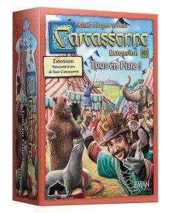 Carcassonne - Extension 10 - Tous en Piste !