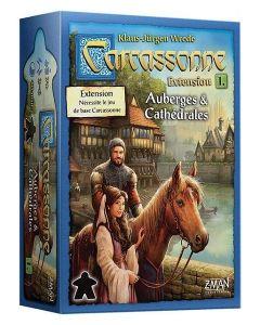 Carcassonne - Extension 1 - Auberges et Cathédrales