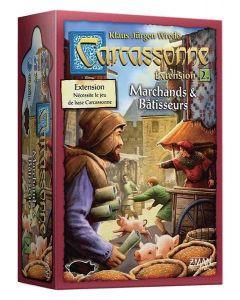 Carcassonne - Extension 2 - Marchands et Bâtisseurs