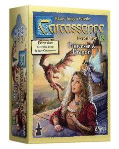 Carcassonne - Extension 3 - Princesse et Dragon