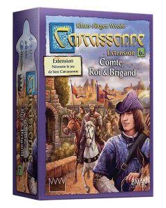 Carcassonne - Extension 6 - Comte, Roi et Brigand