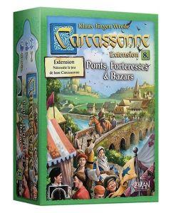 Carcassonne - Extension 8 - Ponts, Forteresses et Bazars