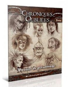 Chroniques Oubliées Fantasy - Dossier de Personnages