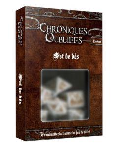 Chroniques Oubliées Fantasy - Set de Dés