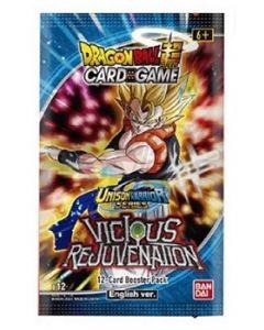 Dragon Ball Super B12 - Unison Warrior Series - Vicious Rejuvenation - Booster(s) (Français)