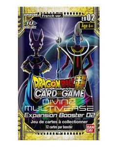 Dragon Ball Super EB02 - Divine Multiverse - Expansion Booster 02 - Booster(s)