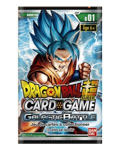 Dragon Ball Super B01 - Galactic Battle - Booster(s) en Blister