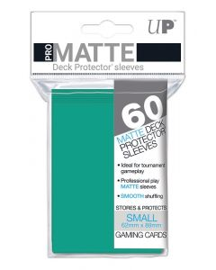 UP - Deck Protector Sleeves - PRO-Matte - Small Size (60) - Aqua