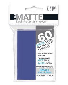 UP - Deck Protector Sleeves - PRO-Matte - Small Size (60) - Blue