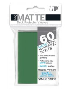 UP - Deck Protector Sleeves - PRO-Matte - Small Size (60) - Green