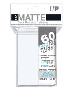 UP - Deck Protector Sleeves - PRO-Matte - Small Size (60) - White