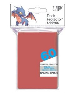 UP - Deck Protector Sleeves - Small Size (60) - Red