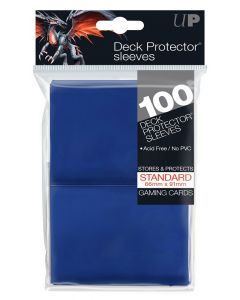 Deck Protector Sleeves - Standard Size (100) - Blue