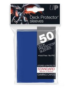 UP - Deck Protector Sleeves - Standard Size (50) - Blue