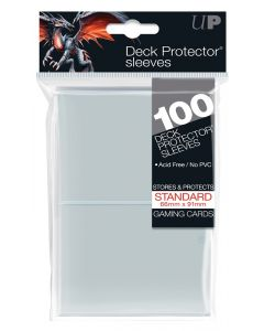 Deck Protector Sleeves - Standard Size (100) - Clear