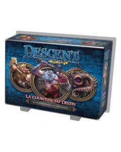 Descent - Extension Héros et Monstres - La Couronne du Destin