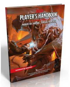 Dungeons & Dragons (JdR 5ème Edition) - Manuel des Joueurs