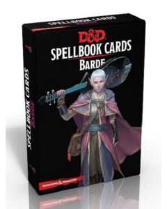 Dungeons & Dragons (JdR 5ème Edition) - Spellbook Cards - Barde