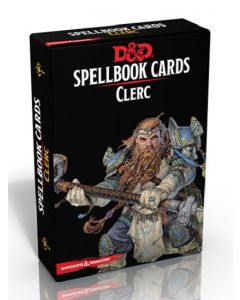 Dungeons & Dragons (JdR 5ème Edition) - Spellbook Cards - Clerc