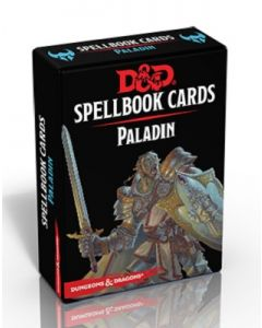Dungeons & Dragons (JdR 5ème Edition) - Spellbook Cards - Paladin