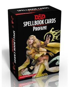 Dungeons & Dragons (JdR 5ème Edition) - Spellbook Cards - Profane