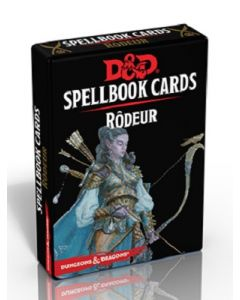 Dungeons & Dragons (JdR 5ème Edition) - Spellbook Cards - Rôdeur