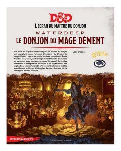 Dungeons & Dragons (JdR 5ème Edition) - Waterdeep - Ecran Le Donjon du Mage Dément