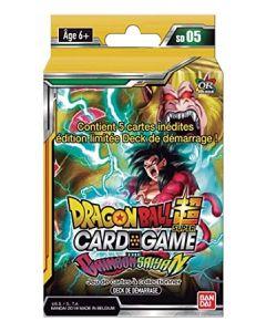 Dragon Ball Super - Deck de Démarrage - The Crimson Saiyan