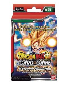 Dragon Ball Super SD02 - Deck de Démarrage - The Extreme Evolution