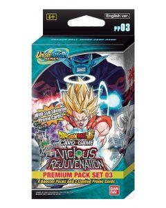 Dragon Ball Super PP03 - Premium Pack Set - Vicious Rejuvenation (Français)