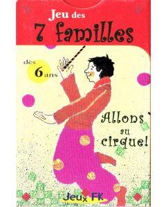 7 Familles - Allons au Cirque !