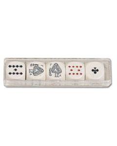 Dés Poker - 16mm (5 pièce)