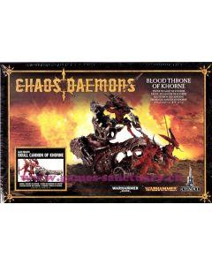 Warhammer et 40000 (JdB) - Démons du Chaos - Trône de Sang de Khorne