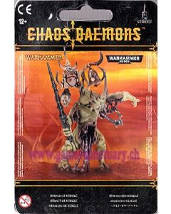 Warhammer et 40000 (JdB) - Démons du Chaos - Héraut de Nurgle