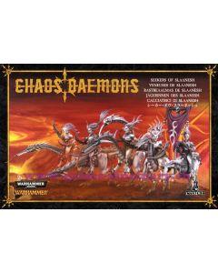 Warhammer et 40000 (JdB) - Démons du Chaos - Veneuses de Slaanesh