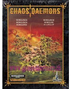 Warhammer et 40000 (JdB) - Démons du Chaos - Nurglings