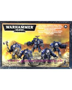 Warhammer 40000 (JdF) - Space Marines - Escouade Terminator d'Assaut