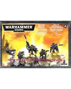 Warhammer 40000 (JdF) - Space Marines - Scouts avec Fusils de Sniper