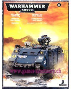 Warhammer 40000 (JdF) - Space Marines - Razorback