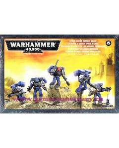 Warhammer 40000 (JdF) - Space Marines - Escouade d'Assaut