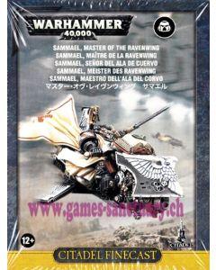 Warhammer 40000 (JdF) - Dark Angels - Sammael - Maître de la Ravenwing