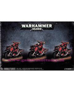Warhammer 40000 (JdF) - Space Marines du Chaos - Motards