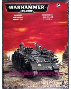 Warhammer 40000 (JdF) - Space Marines du Chaos - Rhino