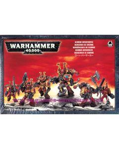 Warhammer 40000 (JdF) - Space Marines du Chaos - Berzerkers de Khorne