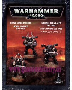 Warhammer 40000 (JdF) - Space Marines du Chaos - Clip de 3 Figurines
