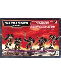 Warhammer 40000 (JdF) - Space Marines du Chaos - Raptors ou Serres du Warp