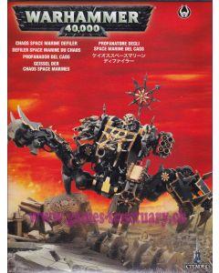 Warhammer 40000 (JdF) - Space Marines du Chaos - Defiler
